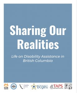 Cover page of Sharing Our Realities Report