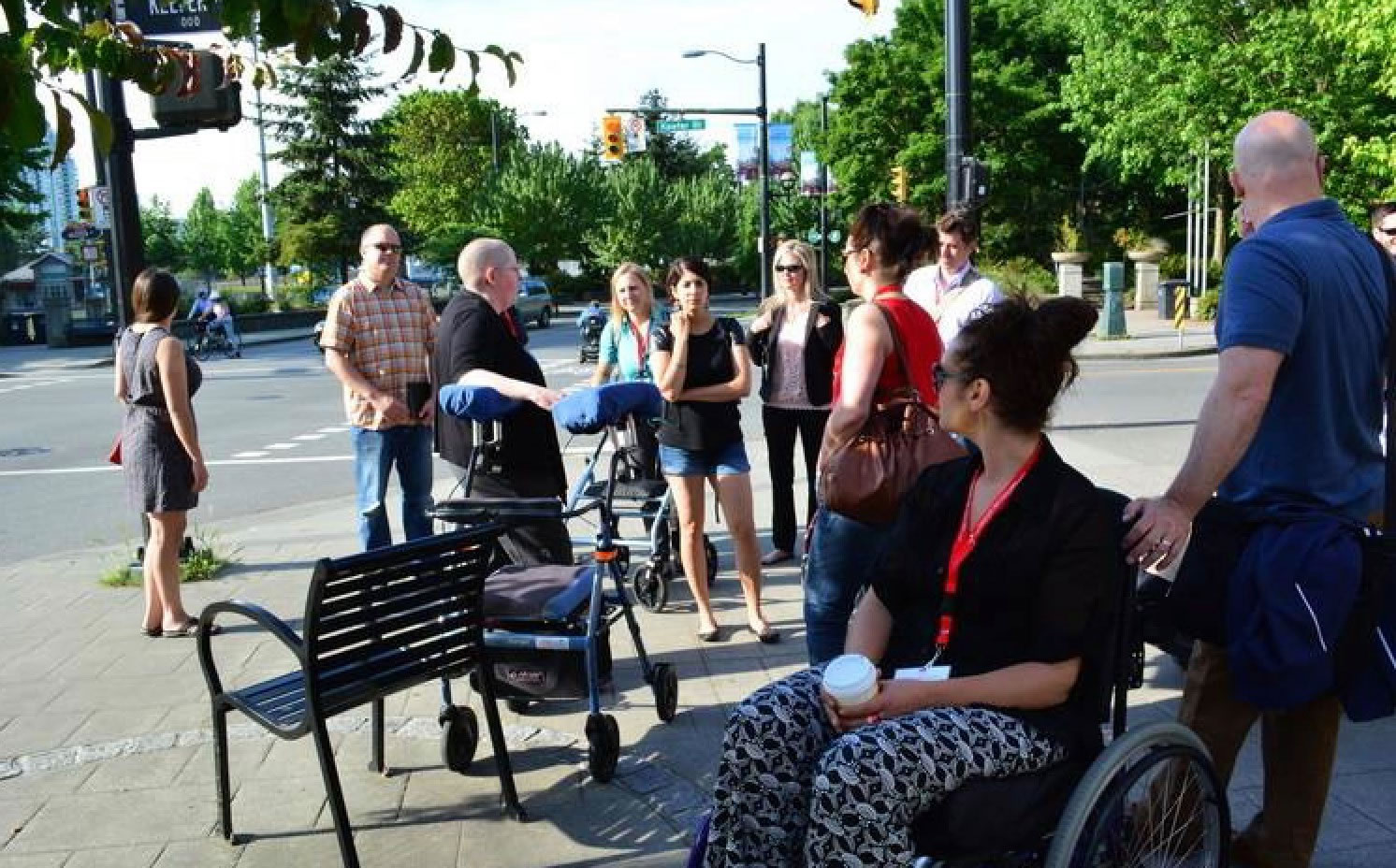 Creating Accessible Neighbourhoods